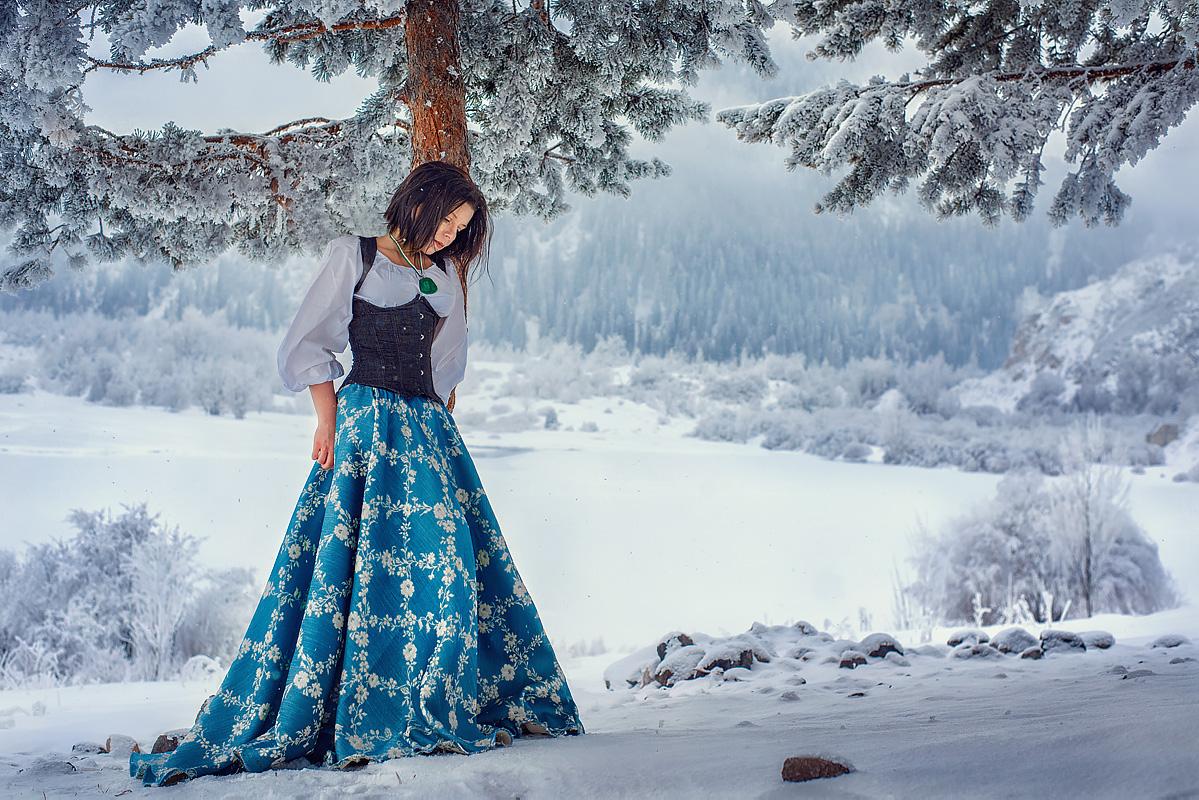 Зимняя фотосессия|dreamcatcher.kz